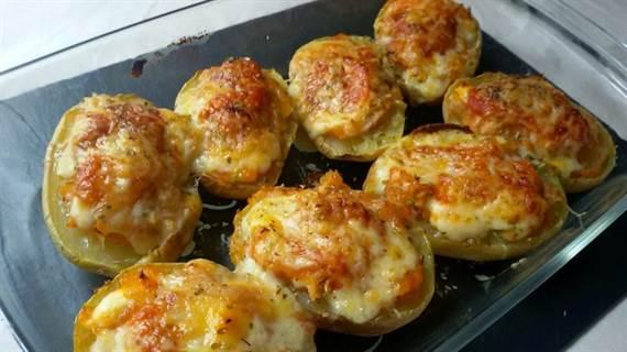 Patatas rellenas de at n anna recetas f ciles for Ideas para hacer de cenar